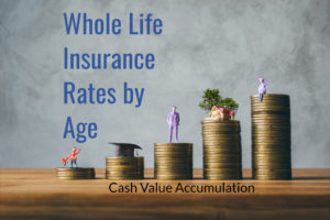 whole life insurance rates by age